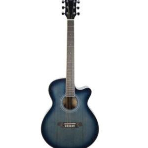 Chitarra acustica Oqan QGA-41CE BLU